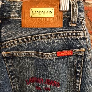 lawman Jeans - Vintage Lawman high waisted mom jeans